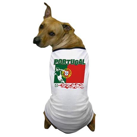 Portuguese soccer Dog T-Shirt