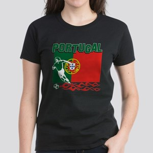 Portuguese soccer Women's Dark T-Shirt