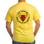 Get Out of my Way! Yellow T-Shirt