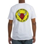 Get Out of my Way! Fitted T-Shirt