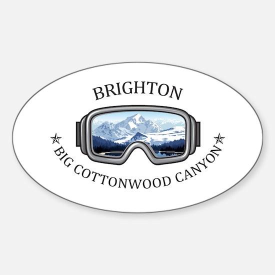 Brighton - Big Cottonwood Canyon - Utah Decal