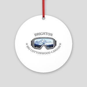 Brighton - Big Cottonwood Canyon Round Ornament