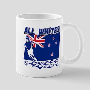 All Whites New Zealand soccer Mug