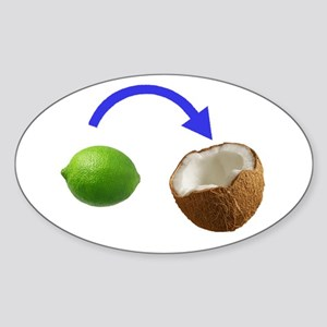 Put the Lime In the Coconut Sticker