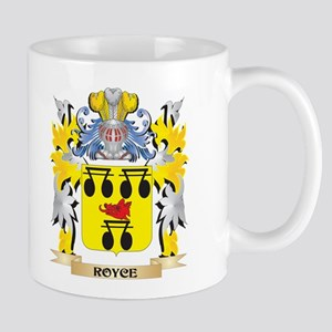 Royce Family Crest - Coat of Arms Mugs