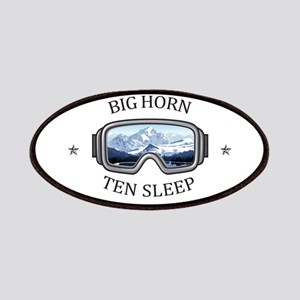 Big Horn - Ten Sleep - Wyoming Patch