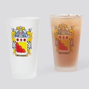 Roycroft Family Crest - Coat of Arm Drinking Glass