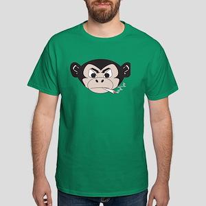 Smoking Monkey Dark T-Shirt