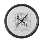 The Prisoner Large Wall Clock