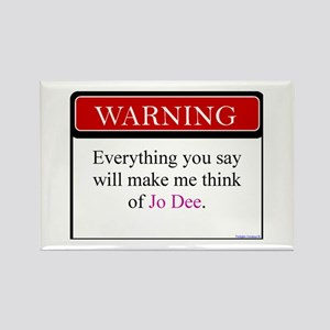 Everything Said... Jo Rectangle Magnet