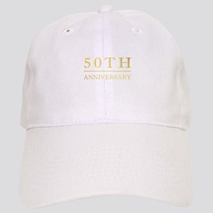 50th Anniversary Gold Shadowed Cap