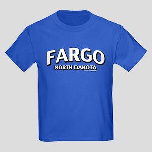 Fargo North Dakota Kids Dark T-Shirt