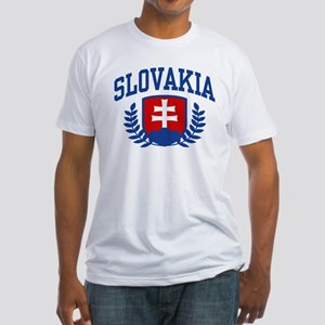 Slovakia Fitted T-Shirt