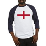 English Flag Baseball Jersey