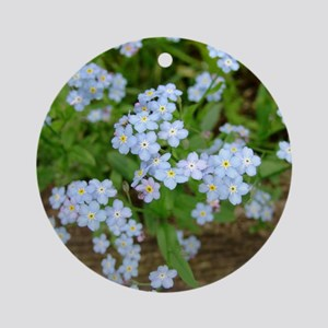 Forget-Me-Not Blossoms - Keepsake (Round)