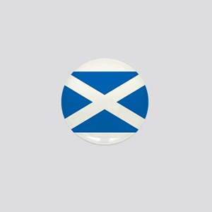 Scottish Flag Mini Button