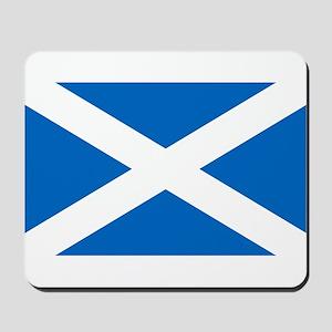Scottish Flag Mousepad