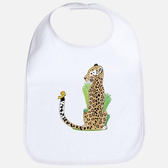 Animal Alphabet Jaguar Bib