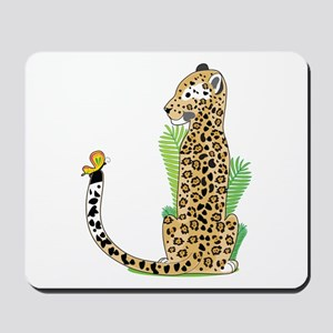 Animal Alphabet Jaguar Mousepad