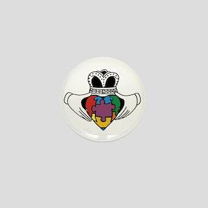 Spectrum Claddagh Mini Button