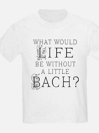 Fun Bach Music Quote T-Shirt
