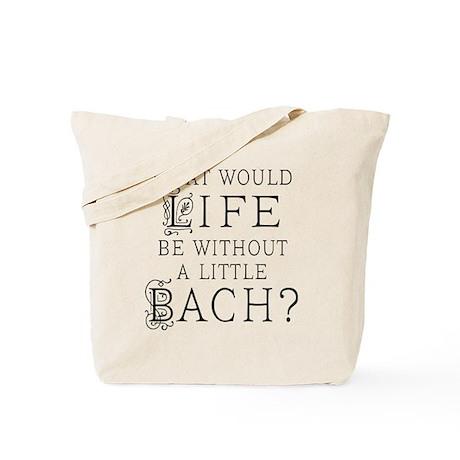 Fun Bach Music Quote Tote Bag