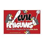 Evil Penguins Mini Poster Print