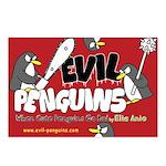 Evil Penguins Postcards (Package of 8)
