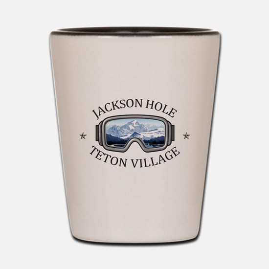 Jackson Hole - Teton Village - Wyomin Shot Glass