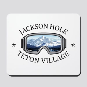 Jackson Hole - Teton Village - Wyoming Mousepad