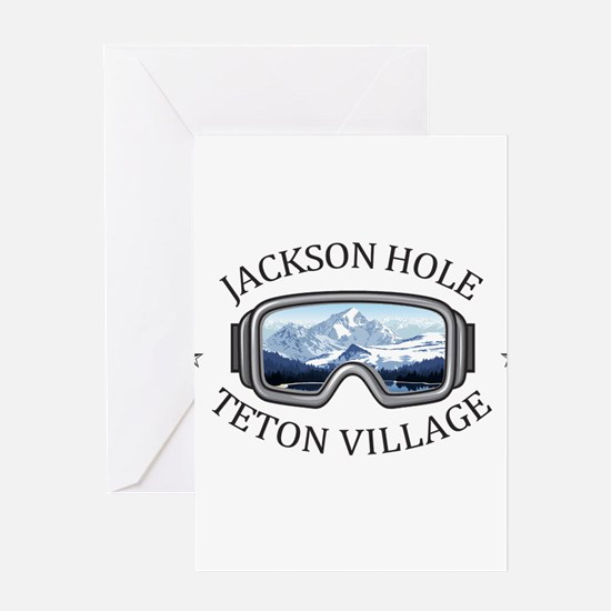Jackson Hole - Teton Village - Wy Greeting Cards