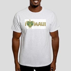 I Love Maui Light T-Shirt