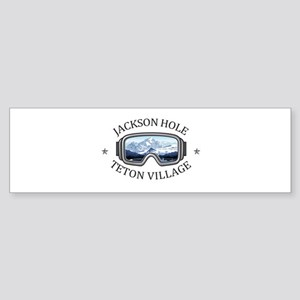 Jackson Hole - Teton Village - Wy Bumper Sticker