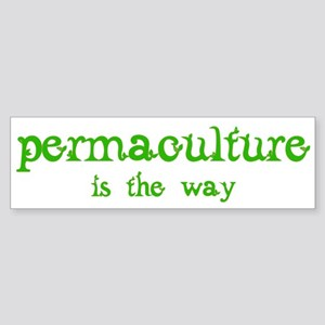 Permaculture Sticker (Bumper)