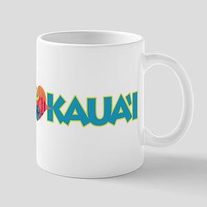 I Love Kaua'i Mug