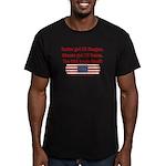 USA Heals Itself Men's Fitted T-Shirt (dark)