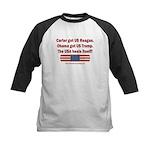 USA Heals Itself Kids Baseball Tee