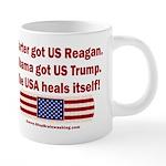 USA Heals Itself 20 oz Ceramic Mega Mug