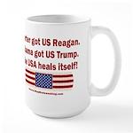 USA Heals Itself 15 oz Ceramic Large Mug