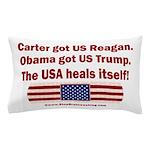 USA Heals Itself Pillow Case
