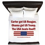 USA Heals Itself King Duvet