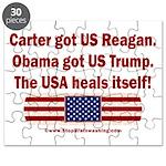USA Heals Itself Puzzle
