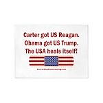 USA Heals Itself 5'x7'Area Rug