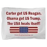 USA Heals Itself Pillow Sham