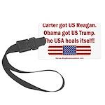 USA Heals Itself Large Luggage Tag