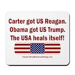 USA Heals Itself Mousepad