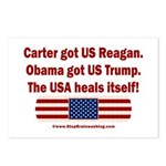 USA Heals Itself Postcards (Package of 8)