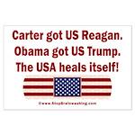 USA Heals Itself Large Poster