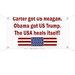 USA Heals Itself Banner