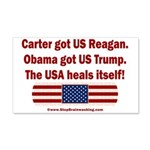 USA Heals Itself 20x12 Wall Decal